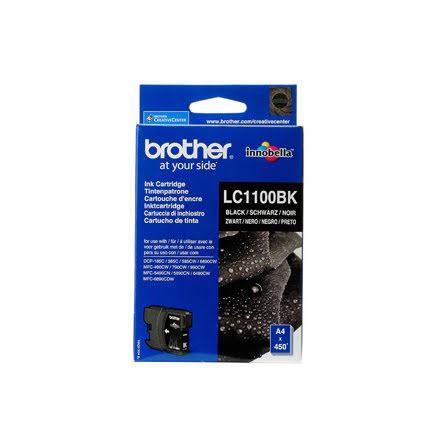 Bläckpatron Brother LC1100BK s
