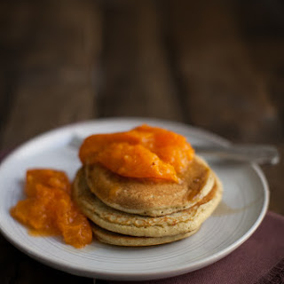 Barley Pancakes with Apricots.