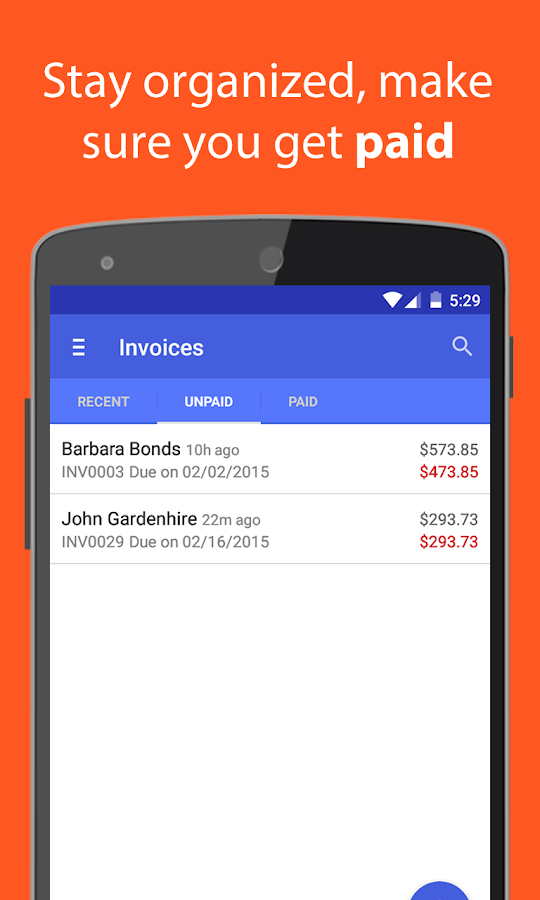 Bringjacobolivierhomeus  Marvelous Invoice Amp Estimate On The Go  Android Apps On Google Play With Handsome Invoice Amp Estimate On The Go Screenshot With Agreeable Does Gmail Have Read Receipt Also Home Depot Receipt Template In Addition Rent Receipts And How To Fill Out A Receipt Book As Well As Hotel Receipt Additionally Spell Receipts From Playgooglecom With Bringjacobolivierhomeus  Handsome Invoice Amp Estimate On The Go  Android Apps On Google Play With Agreeable Invoice Amp Estimate On The Go Screenshot And Marvelous Does Gmail Have Read Receipt Also Home Depot Receipt Template In Addition Rent Receipts From Playgooglecom