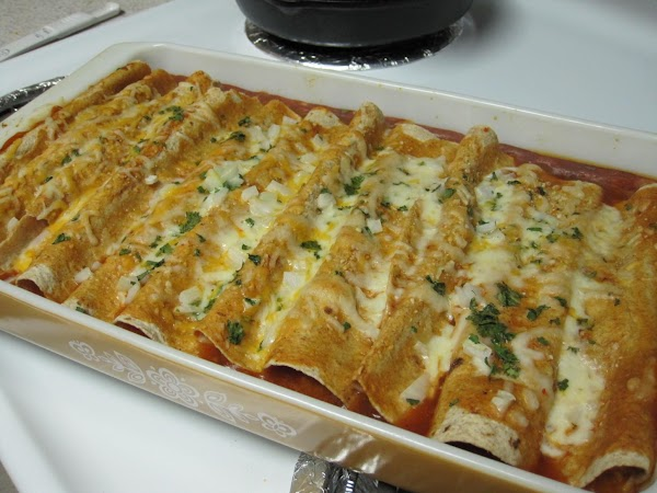 Wild Bill's Cheese Enchiladas Recipe
