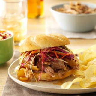 Sweet & Spicy Pulled Pork Sandwiches