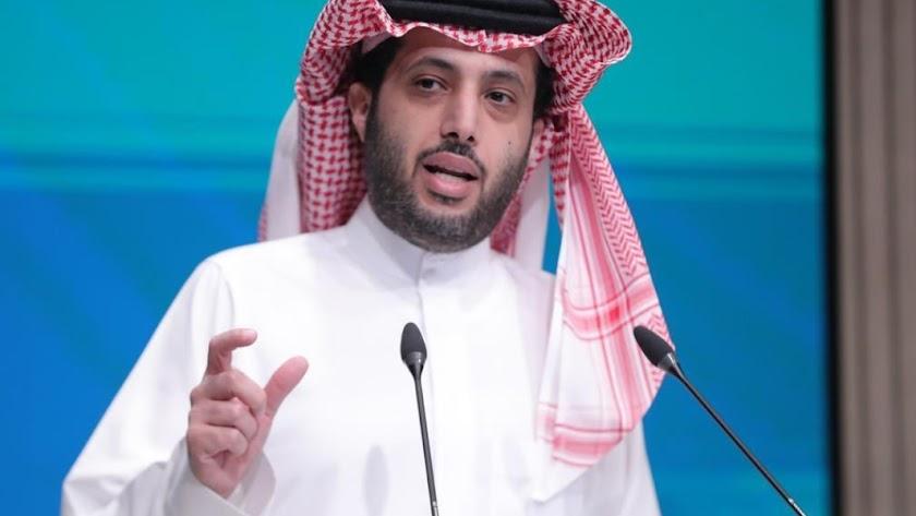 El presidente del Almería, Turki Al-Sheikh.
