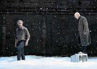 Photo: Wien/ Akademietheater: JOHN GABRIEL BORKMAN von Henrik Ibsen. Inszenierung: Simon Stone, Premiere am 28.5.2015. Roland Koch, Martin Wuttke. Copyright: Barbara Zeininger