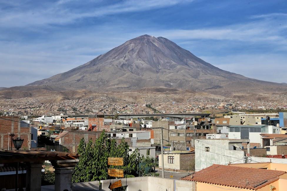 Arequipa, wulkan El Misti (5822 m n.p.m.)