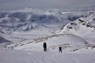 Photo: På veg opp til Eldrevassbergi