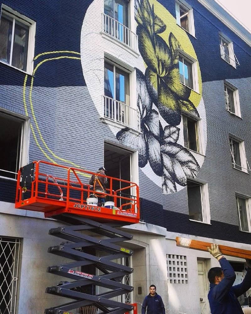 Casa FOA 2017: Mural Ciclope - María Pilar Tolosa, Julián Facundo Razquin