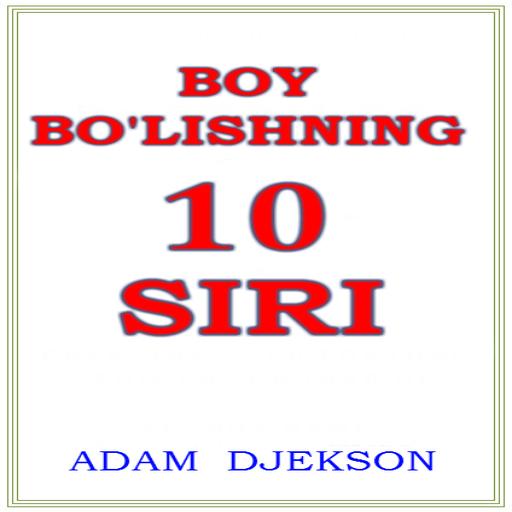 Boy Bo'lishning O'nta Siri Icon