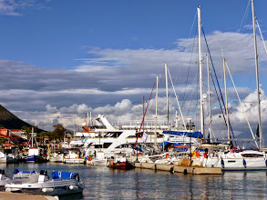 Photo: De haven van Nydri.