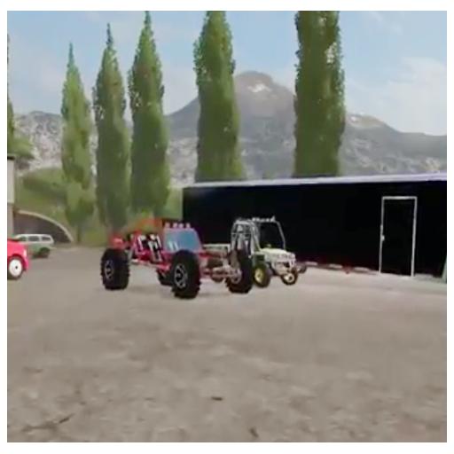 Night Camping Farming Simulator 2017
