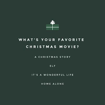 Favorite Christmas Movie - Christmas Template