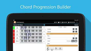 Screenshot of Piano Companion: chords,scales