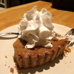 Squash pie GF! Photo by Cg.