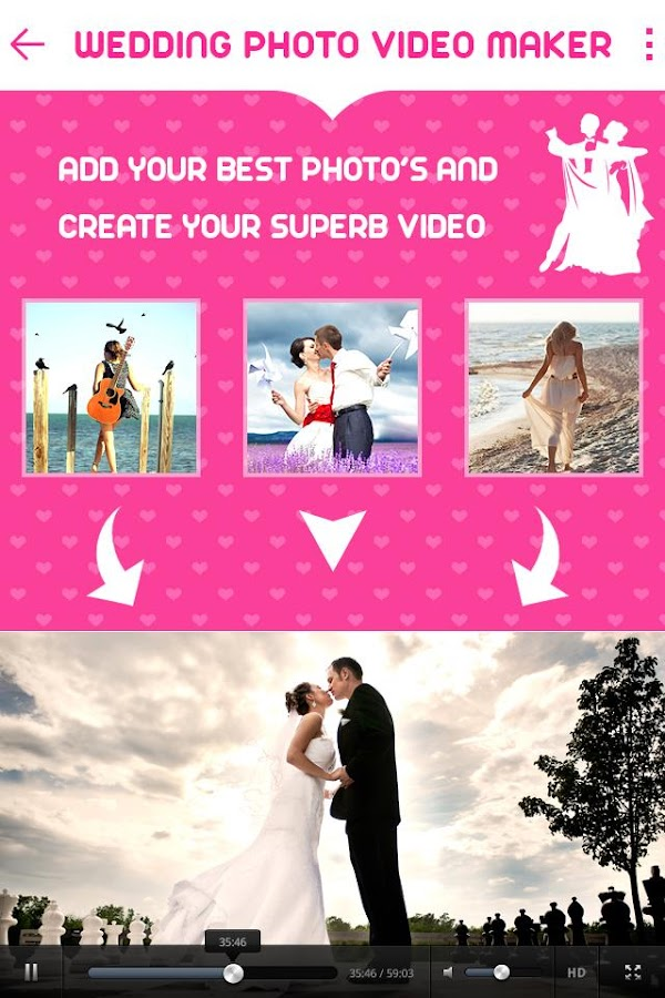 Wedding Photo Video Music Maker