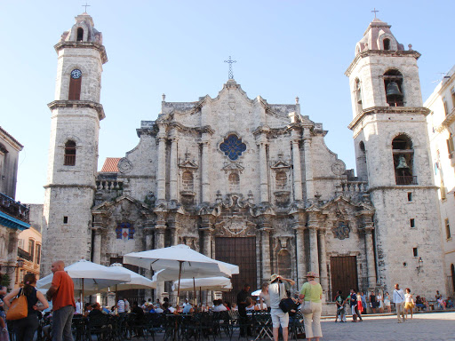 Cuba-Havana-Cathedral.jpg - The Cathedral of the Virgin Mary of the Immaculate Conception in Havana.