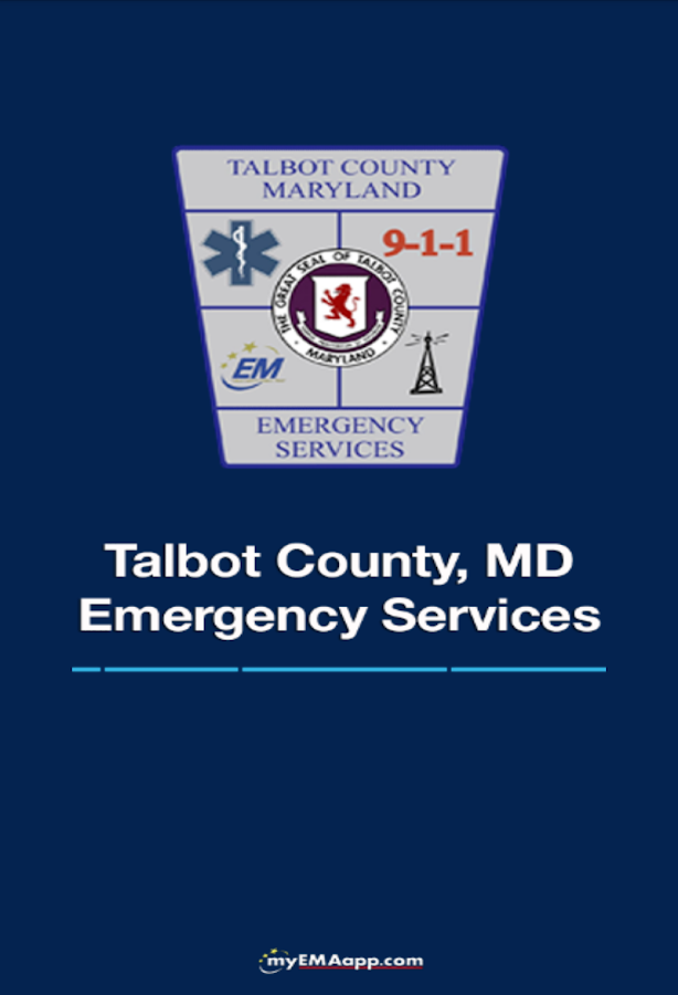 Talbot Co. Emergency Services- screenshot