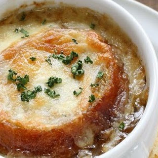 Slow Cooker French Onion Soup #Recipe