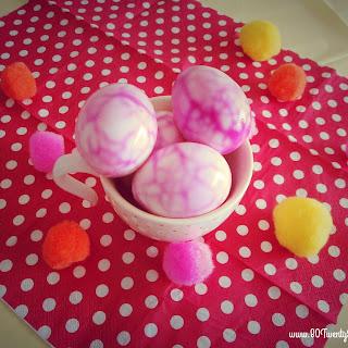 Tie-Dye Easter Eggs