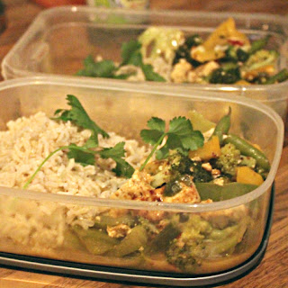 Thai-style Tofu And Vegetable Curry.