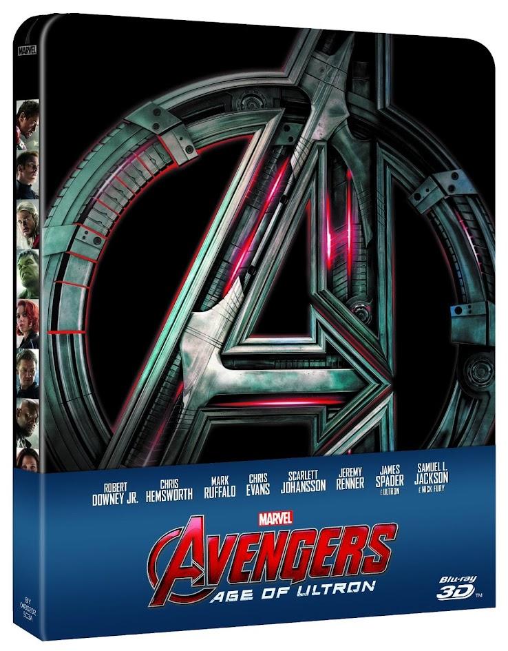 avengers age of ultron steelbook