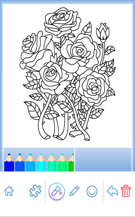 Adult Coloring: Flowers - Android Apps on Google Play