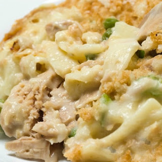Campbell's Classic Tuna Noodle Casserole Made Lighter.