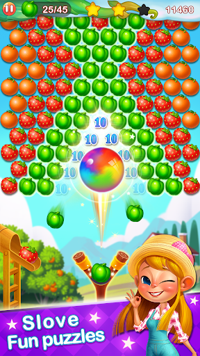 Bubble Farm - Fruit Garden Pop screenshots 1