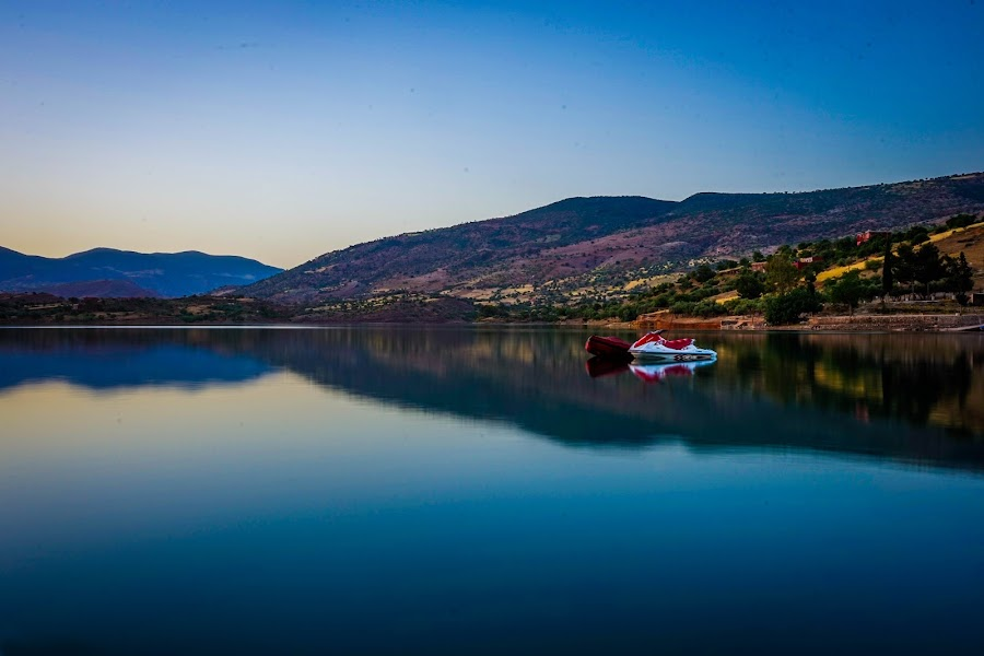 Bine el ouidane by Heichti TMWIW - Landscapes Waterscapes ( water, lake, morocco, photo, maroc,  )