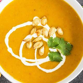 Pumpkin Apple & Carrot Soup