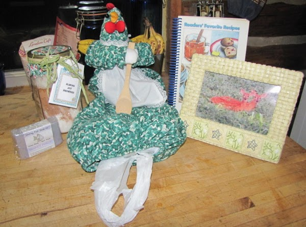 Big Thanks to Peggi for the wonderful gift box full of goodies for the...