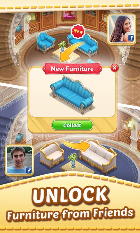 Matchington Mansion Match 3 Home Decor Adventure Android Apps On Google Play