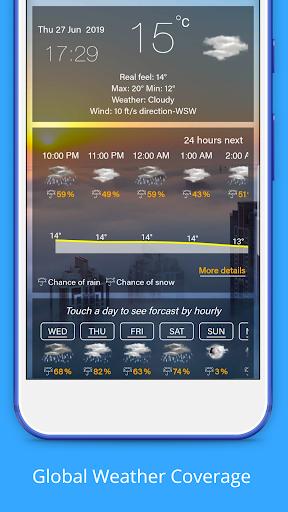 Weather Forecast - Weather Radar & Weather Widget screenshot 2