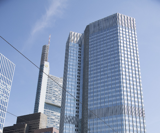 European Central Bank in Frankfurt, Germany. Picture: MARTIN LEISSL/BLOOMBERG