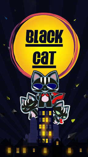 Kika Black Cat Sticker Gif