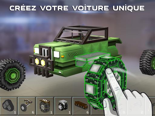 Blocky Cars - jeux de tank, tank wars captures d'u00e9cran 2