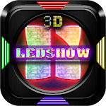 Next Launcher 3D Theme LedShow Icon
