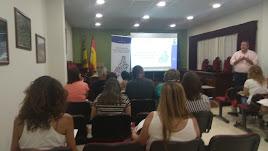 Asistentes al taller de 'Redes Sociales' del Plan de DinamizaciónEmpresarial de Diputación.