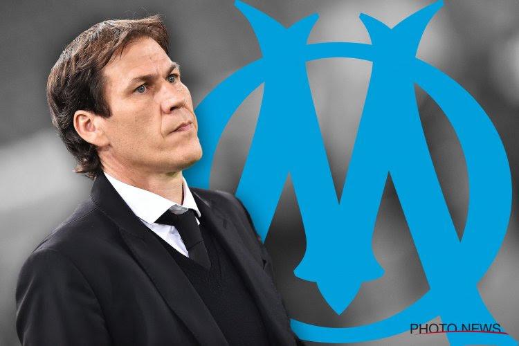 Critiqué de toutes parts, le coach de l'OM Rudi Garcia peut compter sur un soutien de poids