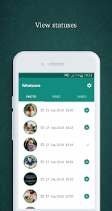 Whatsave – Status Downloader for WhatsApp  Download For Android 1