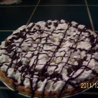 Chocolate Pecan Pie With Chocolate Pudding.