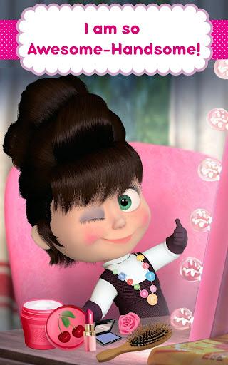 Masha and the Bear: Hair Salon and MakeUp Games 1.1.8 screenshots 11