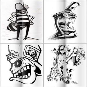 8400 Koleksi Gambar Grafiti Keren Simple Gratis Terbaik
