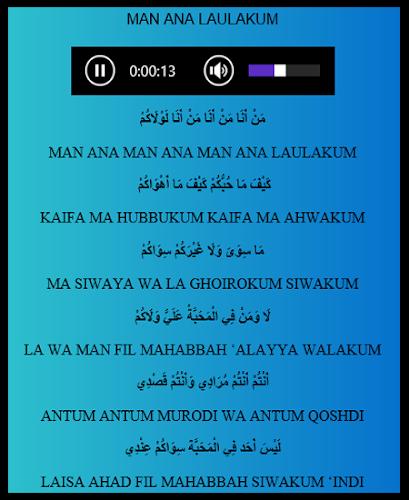 Man Ana Lirik Arab : lirik, Download, Sholawat, Offline, Latest, Version, Android