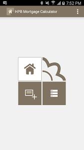 HPB Mortgage Loan Calculator screenshot 0