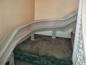 Photo: Bruno | Curved Rail Stair Lift