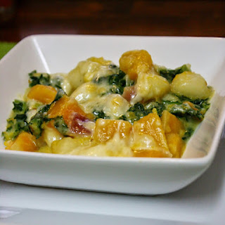 Gnocchi With Butternut Squash, Kale, And Fresh Sage