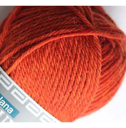 Isager Highland Wool - 803 Rust (melange)