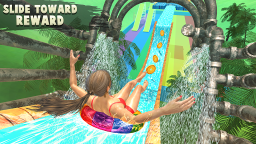 Water Parks Extreme Slide Ride : Amusement Park 3D 1.32 screenshots 1