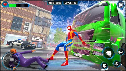 Télécharger Gratuit araignée jeux homme: les meilleurs jeux de combat  APK MOD (Astuce) screenshots 3