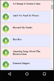 Black Gospel Funeral Songs - náhled