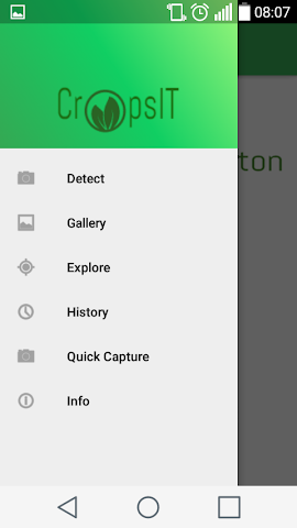 android CropsIT diagnostic Screenshot 1